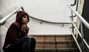 Homeless despair