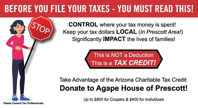 Arizona Charitable Tax Credit Option