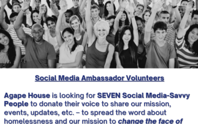 Social Media Ambassadors Volunteers Needed