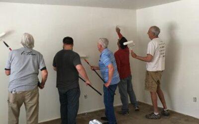 Volunteers Prep Another Home