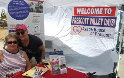 Sharing Agape News at PV Days