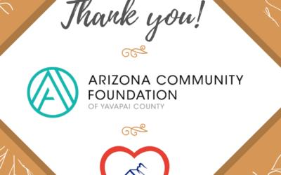 Thank You Arizona Community Foundation