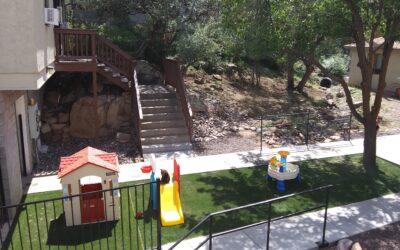 New Playground for Agape House